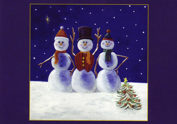 Snowman Cards | New Calendar Template Site